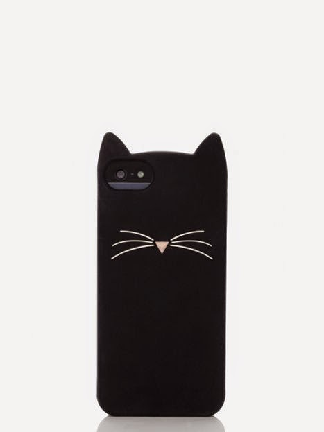 kate spade cat iPhone case