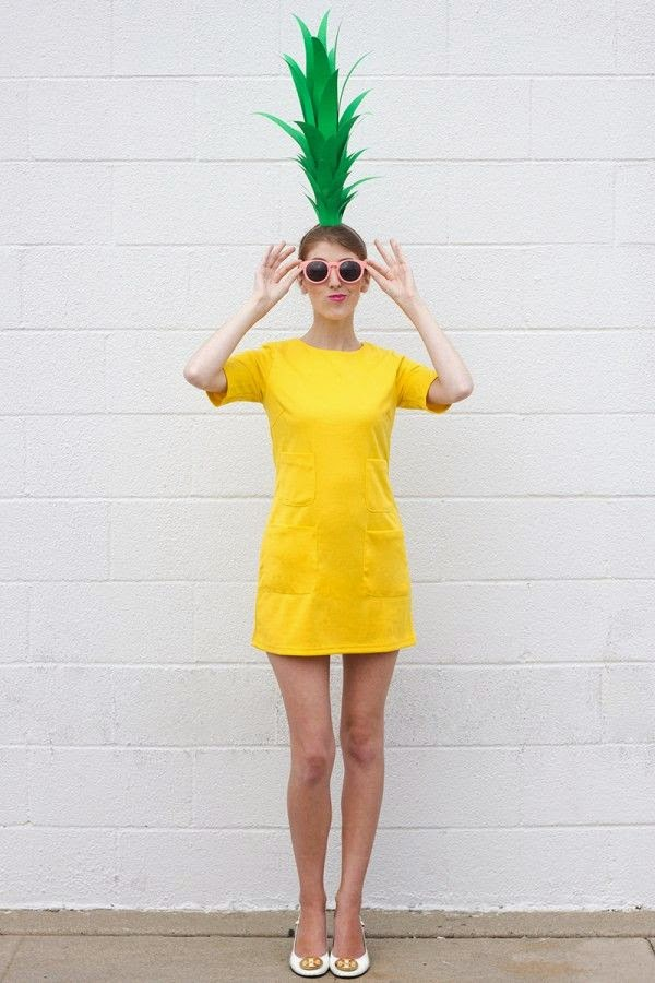 DIY Pineapple Halloween Costume