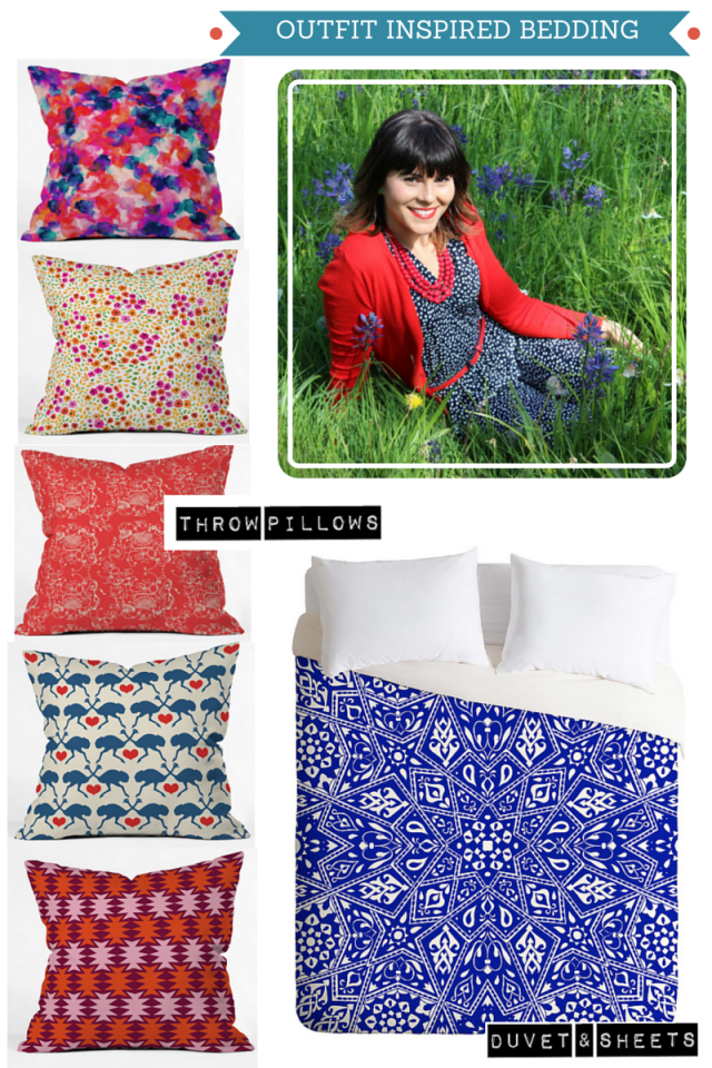 OUTFIT INSPIRED BEDDING