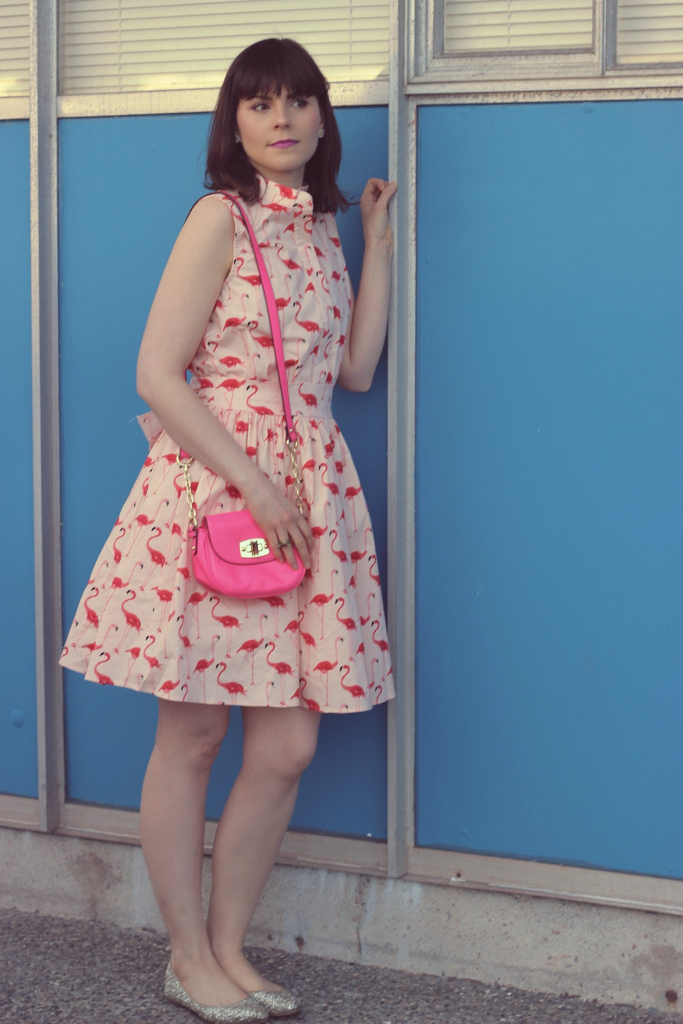 Pink Flamingo Chic Wish Dress for Spring