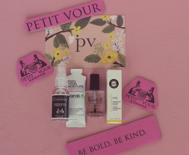 Petit Vour, Vegan Beauty Box, Cruelty Free Beauty Box