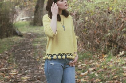 Bouncing Fun Sweater in Mustard, Chic Wish, Pom Pom, Sweater, Vintage, Fall Fashion, Blogger, Style, outfit, Women,
