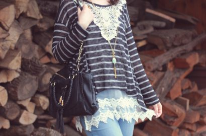 Grace and Lace, pointed lace top extender, Lace feature top, Fashion, blogger, vintage style,