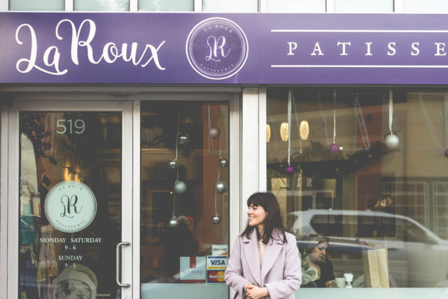 La Roux Patisserie, Desserts, Victoria, BC, Pastry, French, Bakery, Macaron, Parisian, french inspired, Paris, France, High Tea, Tea Room, Silk Road Tea, Fernwood Coffee
