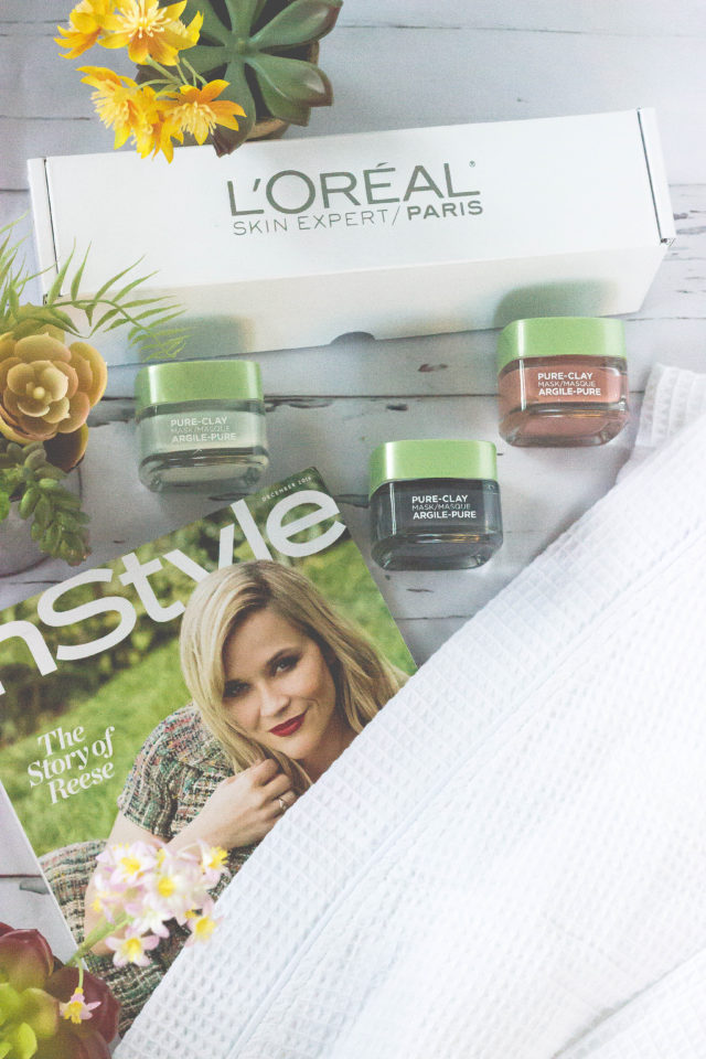 L'Oreal Purify & Mattify Pure-Clay Mask, L'Oreal Detox & Brighten Clay Mask, L'Oreal Exfoliate & Refine Clay Mask, review,