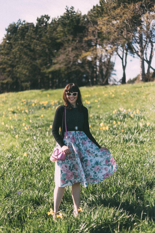 Ola Dubois, Beautiful Sustainable Fashion, vintage Style, French Picnic, reclaimed fabrics, sustainable fabric, upcycled, thrifting, eco-textiles