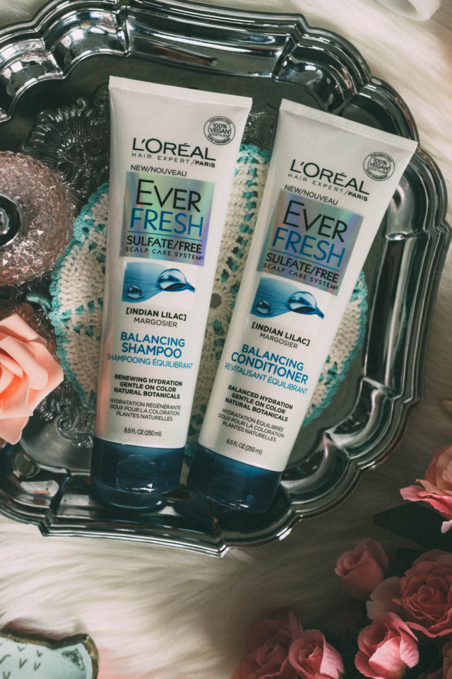 L'Oreal Paris, Ever Fresh, Ever Pure, Sulfate free, Paraben Free, Vegan, Shampoo, Conditioner, EverFresh Micro-Exfoliating Scrub