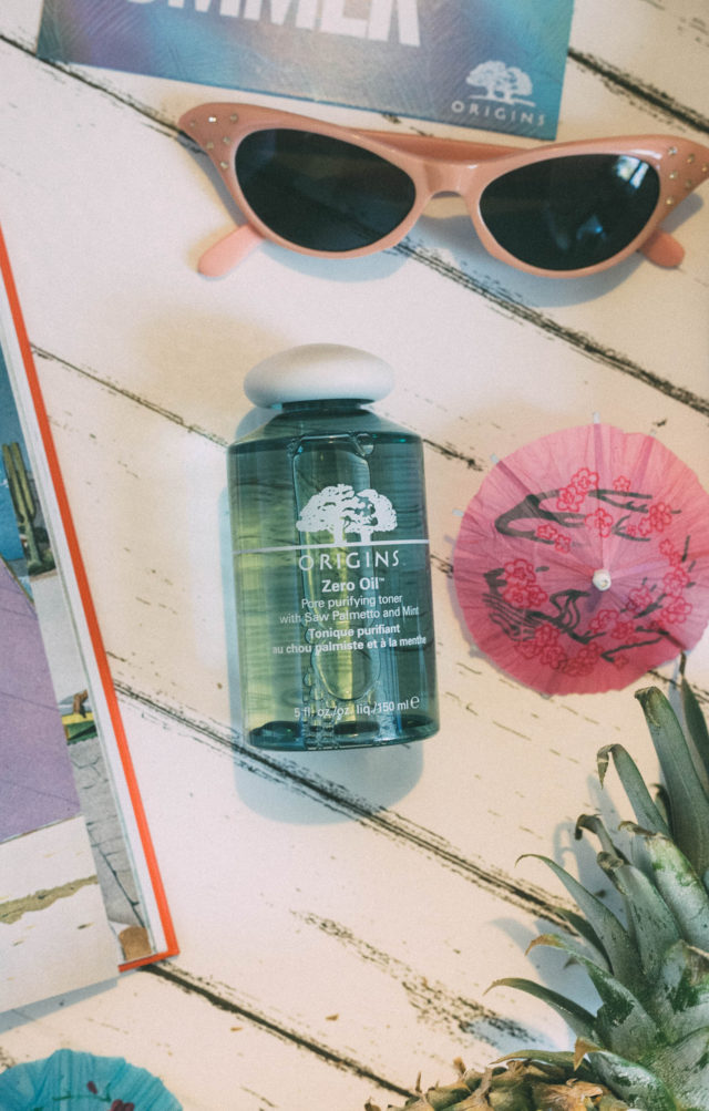 ZERO OIL™ PORE PURIFYING TONER WITH SAW PALMETTO & MINT, ZERO OIL™ DEEP PORE CLEANSER WITH SAW PALMETTO & MINT, Origins