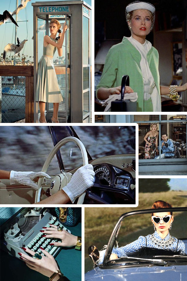 Alfred Hitchcock, Hitchcock, Fashion, style, vintage, retro, Rear Window, The Birds