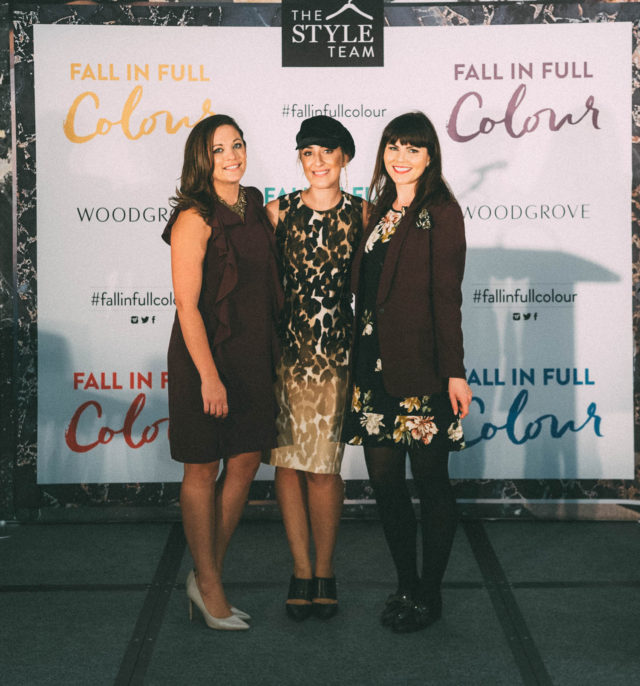Fall in Full Colour Block Party, Woodgrove centre, Nanaimo, Fall Fashion, Hudson's Bay. Old Navy, Call It Spring