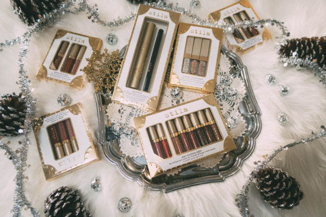 Stila Cosmetics, Holiday 2017, Color Voyage Collection, Stay All Day Shimmer Liquid Lipstick, Stay All Day Sheer Liquid Lipstick, Shimmer and Glow Liquid Eyeshadow