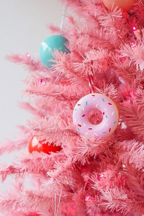Donut Chirstmas Ornaments