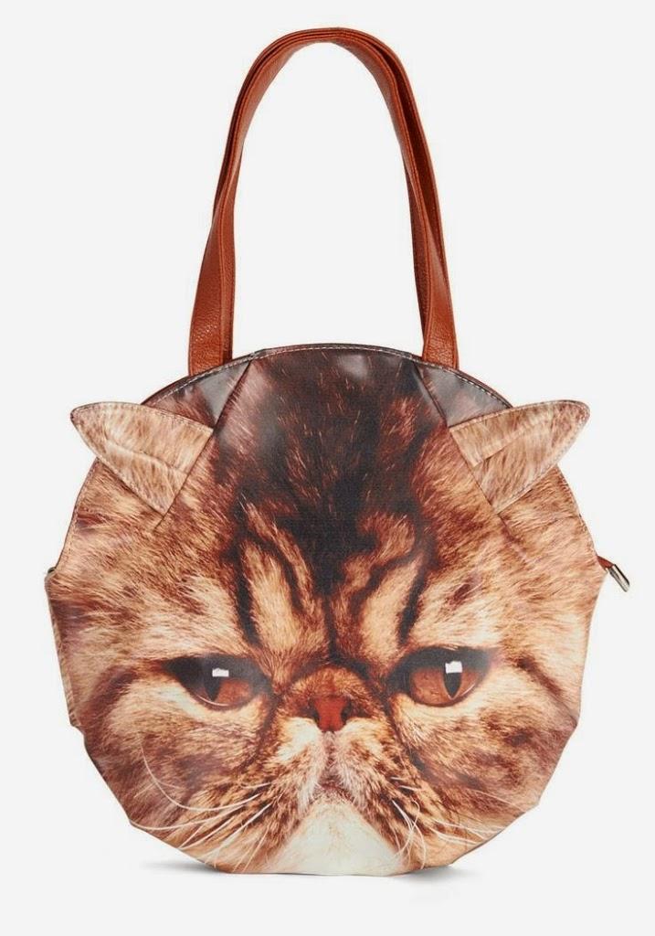 cat head bag