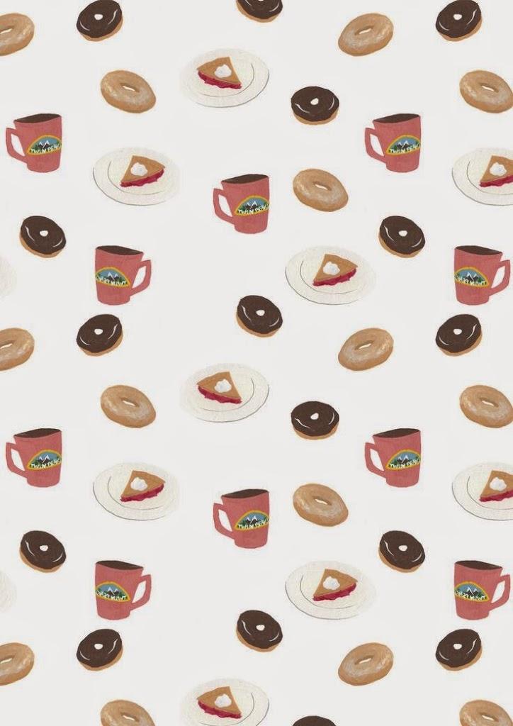 Twin Peaks Donut print