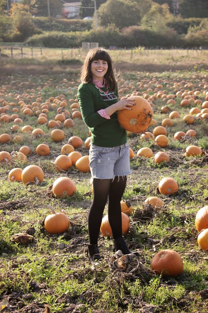 What to wear pumpkin picking