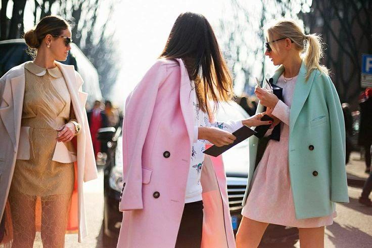 pastel coats