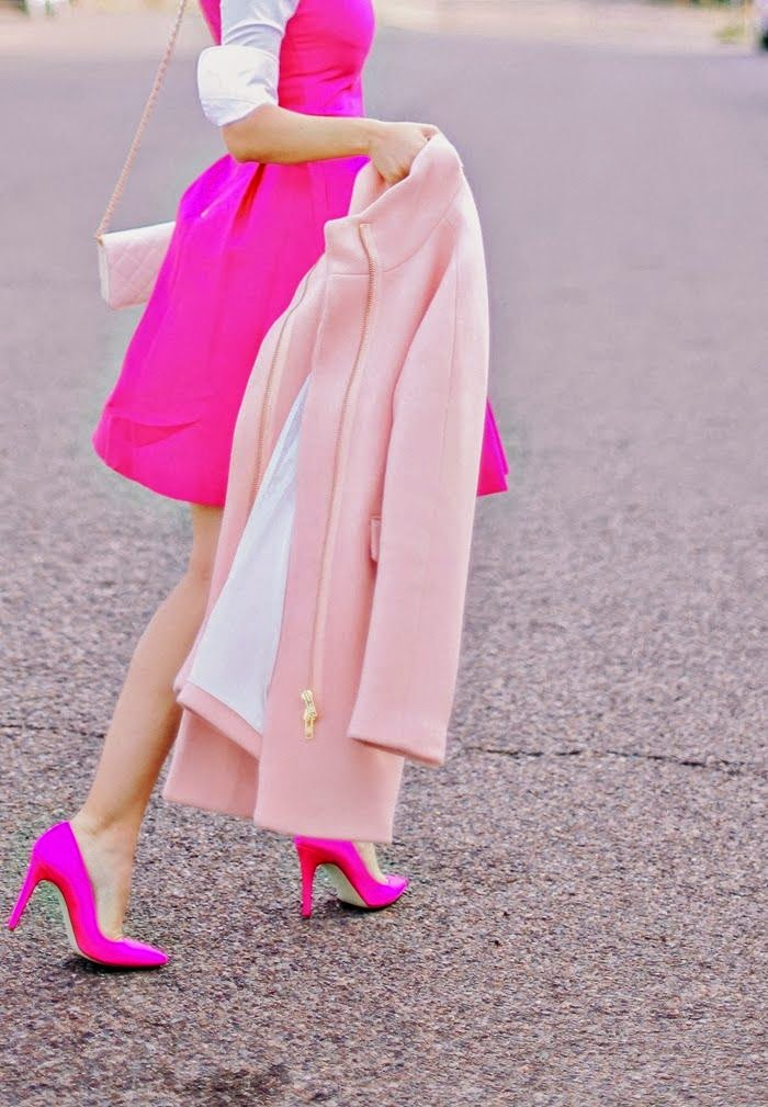 pastel pink fashion