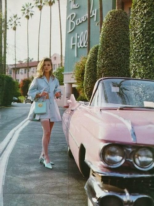 pastel fashion, beverly hills