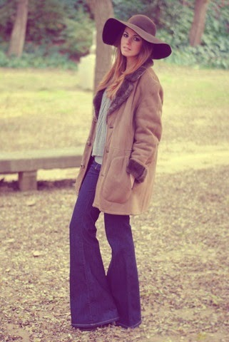 1970s wide leg jeans