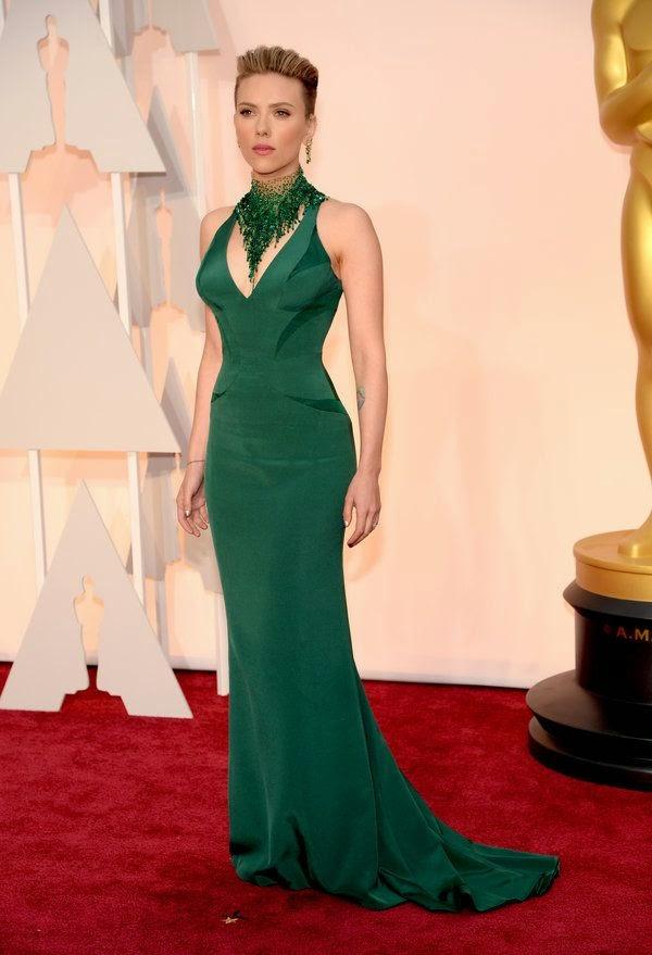 Scarlett Johansen Oscars 2015