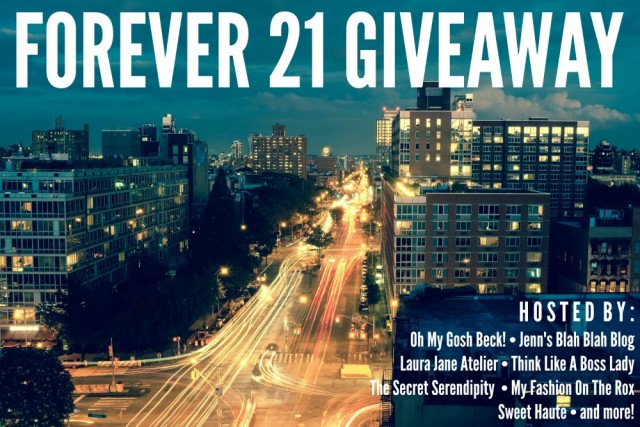 Forever 21 Giveaway