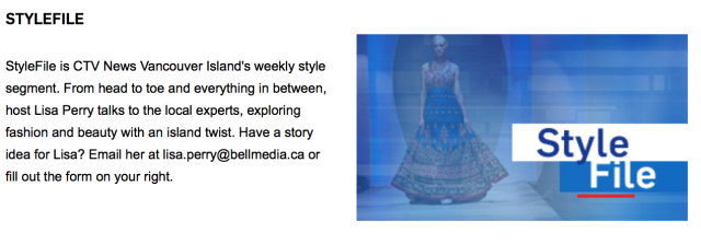 CTV Style File, Laura Mitbrodt, Victoria