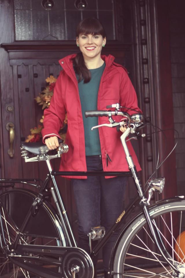 Mia Melon Commuter Jacket