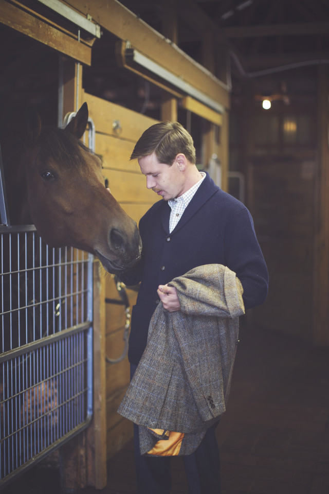 Equestrian Fashion, English Countryside, Harris Tweed, Barbour, Horse