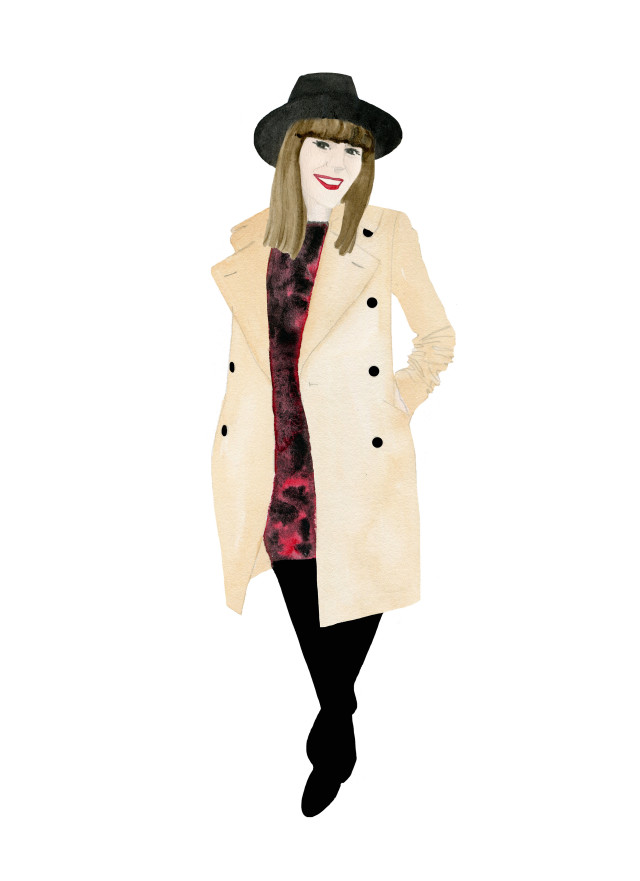 Watercolour Fashion Illustration