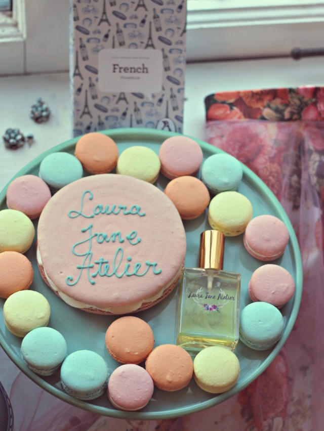Parisian Natural Perfume, French Macarons, natural perfume, floral perfume, Parisian Tea, Victoria Perfumery, Hand made perfume, Marie Antoinette
