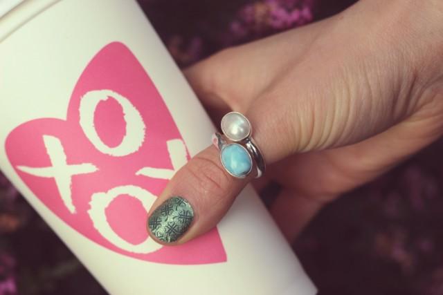 Larimar ring review, Jamberry nail wraps