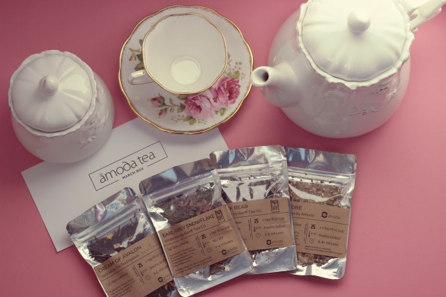 Amid Tea Monthly Tea Box, Organic Tea, Loose Leaf Tea, Canadian Tea, Subscription tea box