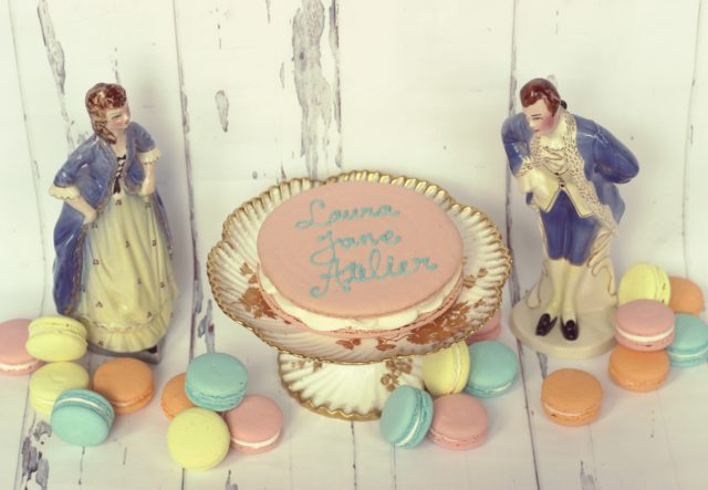 Vintage cake stand, macarons, paris, france, Marie Antoinette