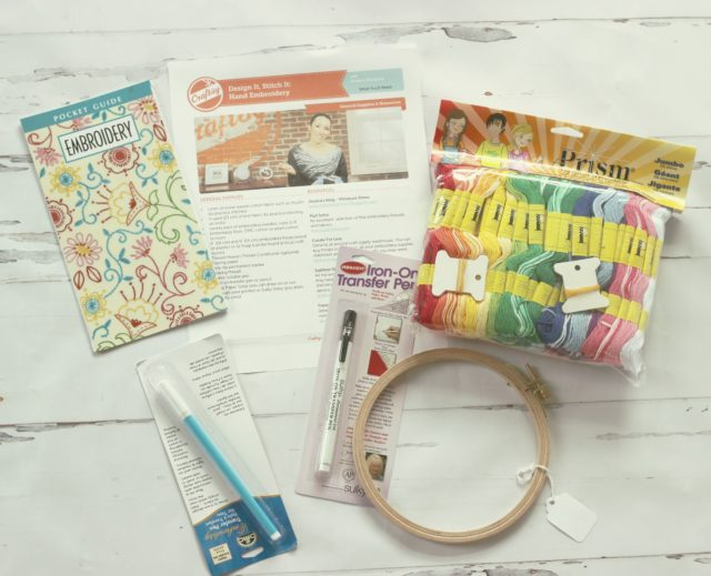 Craftsy Embroidery class