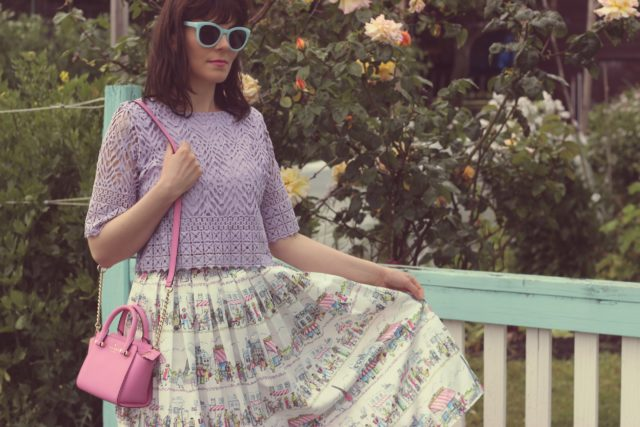 Chic Wish, Paris Skirt, J.Crew, Fashion Blogger, Vintage Fashion, Spring Fashion, Kate Spade New York