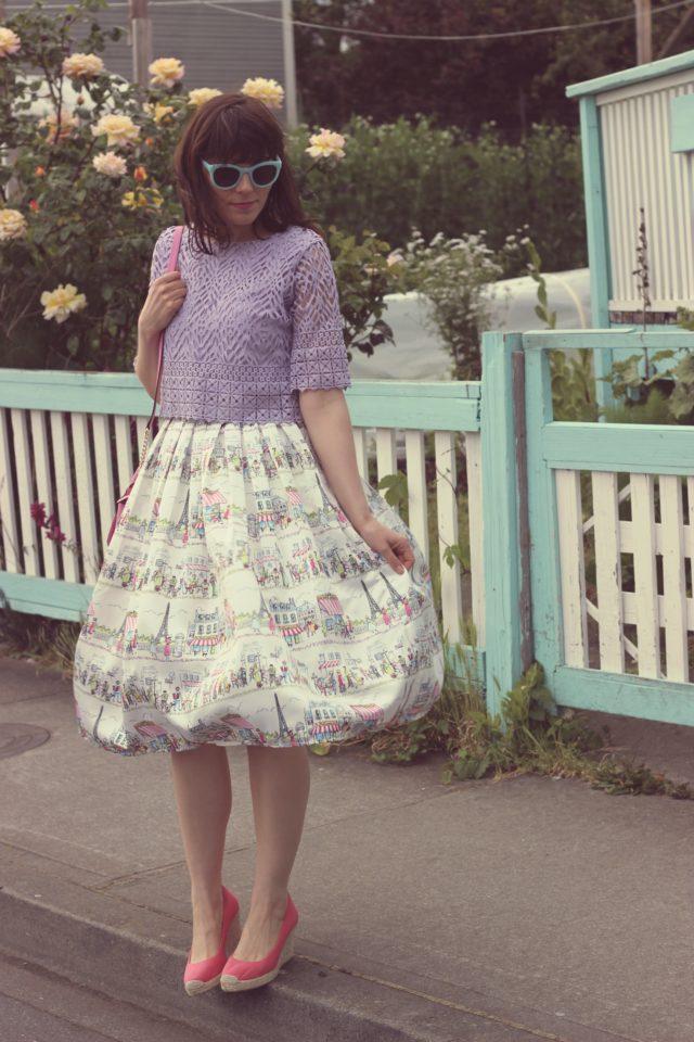 Chic Wish, Paris Skirt, J.Crew, Fashion Blogger, Vintage Fashion, Spring Fashion, Kate Spade New York