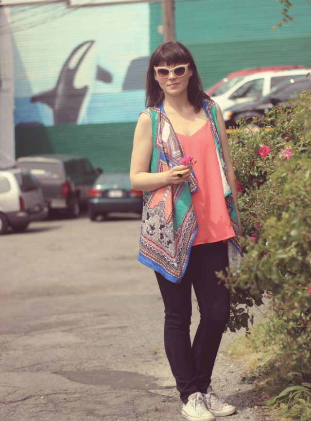 California Moonrise, Old Navy, Marc by Marc Jacobs, Fashion Blogger, Street style, Vintage Fashion, Stephanie Kantis