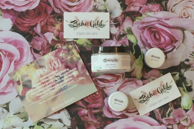 Boho Gold Skincare, Organic skincare, vegan, cruelty free, non toxic
