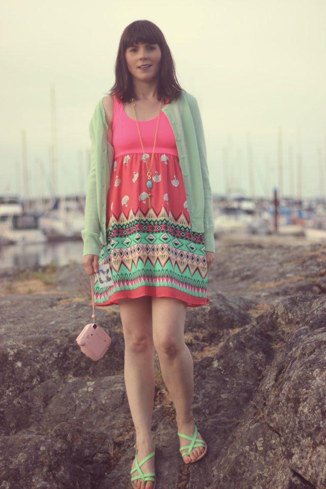AMI Club Wear, Lord And Taylor, Instax, Stephanie Kantis, Summer Fashion, Sun Dresses, Beach Fashion, Fashion Blogger