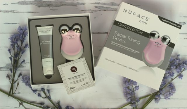 NuFace Mini Facial Toning Device, B-Glowing