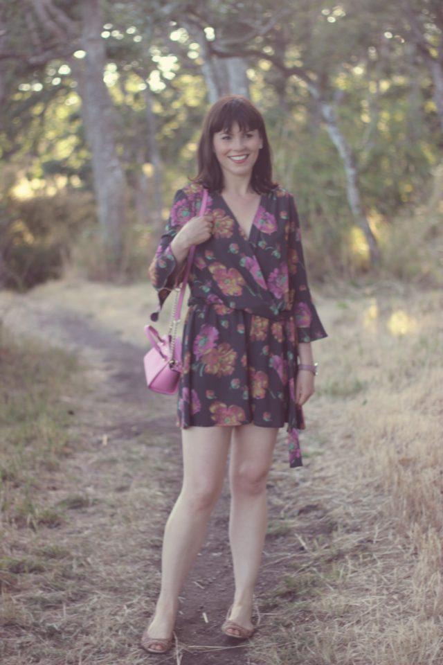 HIGHLINE COLLECTIVE Floral Patterned Jumpsuit, Kate Spade New York, Summer Fashion, Bohemian Fashion, Fashion Blogger, Vintage Fashion