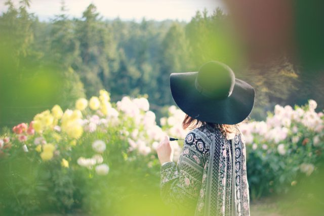 California Moonrise, Tunic, Long Meadow Farm, Dahlia, Stephanie Kantis, Bohemian, Fashion, Fall, outfit, style