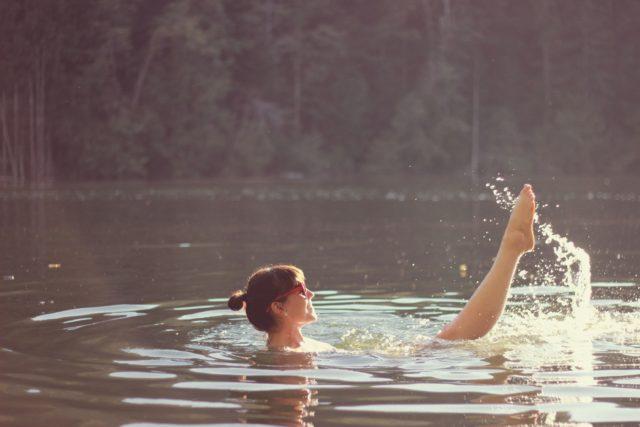 Summer Lake, Vintage, Blogger, Durance Lake