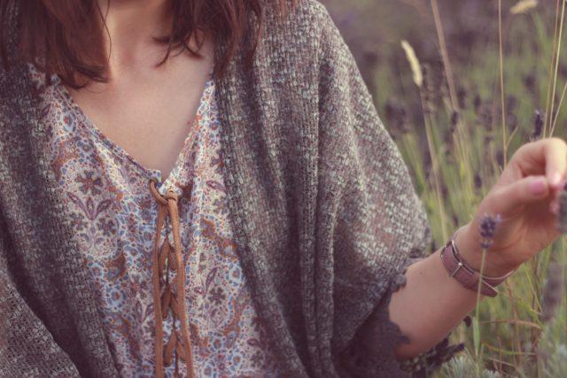 CALIFORNIA MOONRISE Faux Suede Lace-Up Print Dress, Long Meadow Farm, Bohemian Fashion, Vintage, Fashion Blogger, Style, fall fashion, lavender farm, Saanich, Victoria, Long Meadow Farm