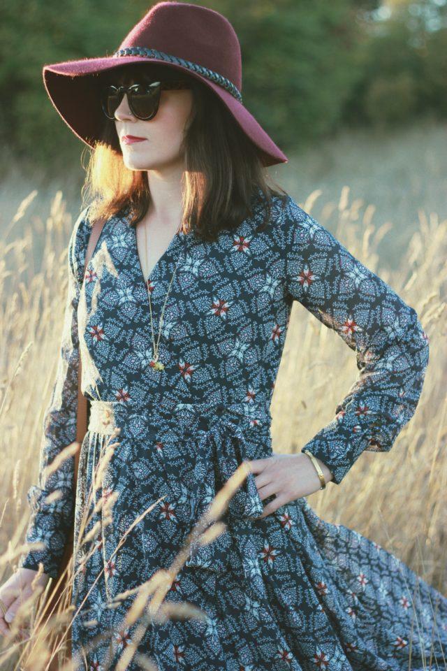 Shabby Apple, Whistlewood Chiffon Maxi Dress, Maxi Dress, Vintage, Bohemian, Fashion, Style, Fall Fashion,
