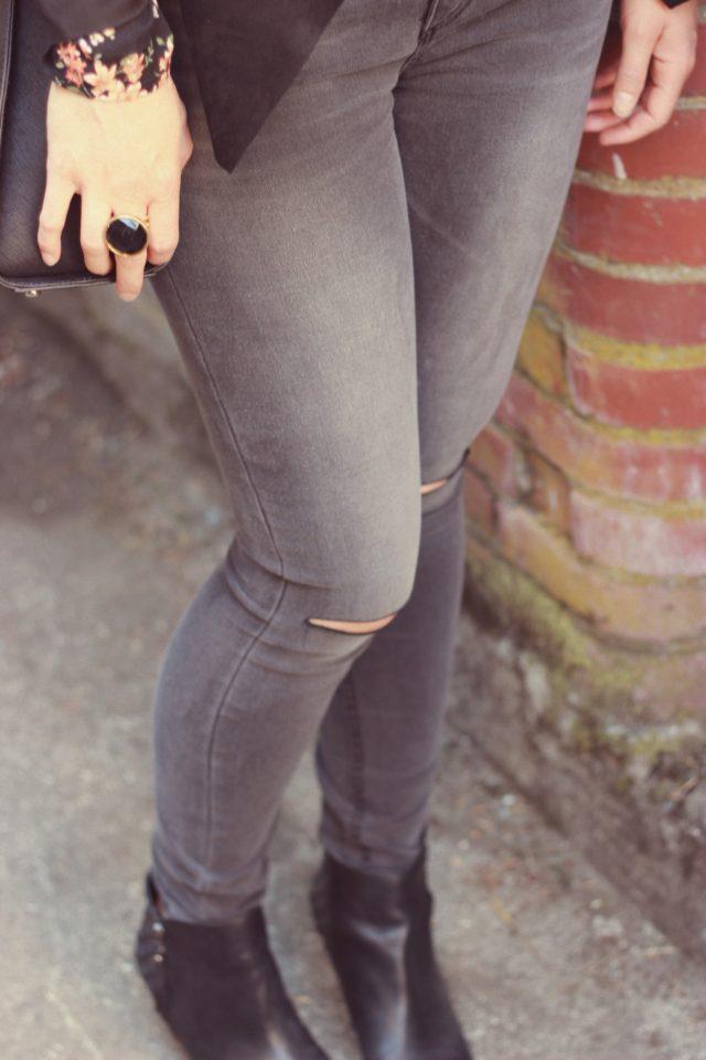 Fall Fashion, Design Lab, Vera Moda, Floral, Vintage, style, blogger