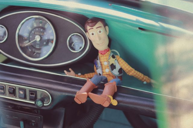Woody, Toy Story, Vintage Car