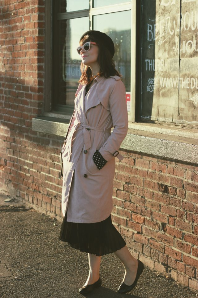 Chic Wish, Pink Trench, Fall Fashion, Vintage, Parisian, Fall Fashion, Millennial Pink
