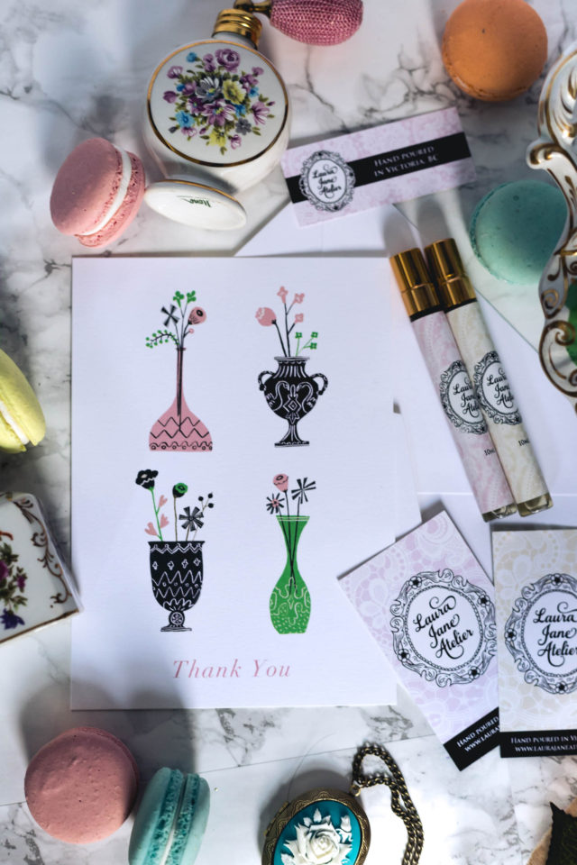 Paperless Post, E- Card, Customized greeting card, stationary, Kate Space New York, Laura Jane Atelier, perfume