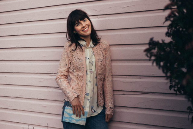 Birdie Paradise Crepe Shirt, Chic Wish, Levi's 501, Mom Jeans, Lace cardigan, pink, pastel, spring fashion